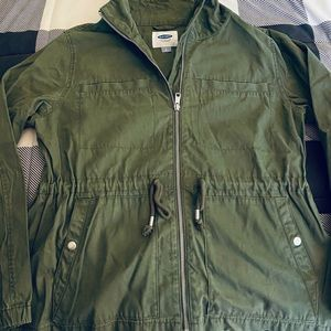VGUC! OLD NAVY SCOUT UTILITY JACKET FOR WOMEN.